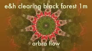 Klangmeditation clearing black forest, harp