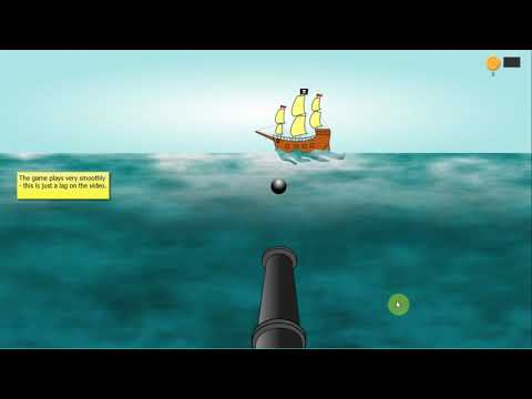 Blast the Pirate Ship - special needs timing game