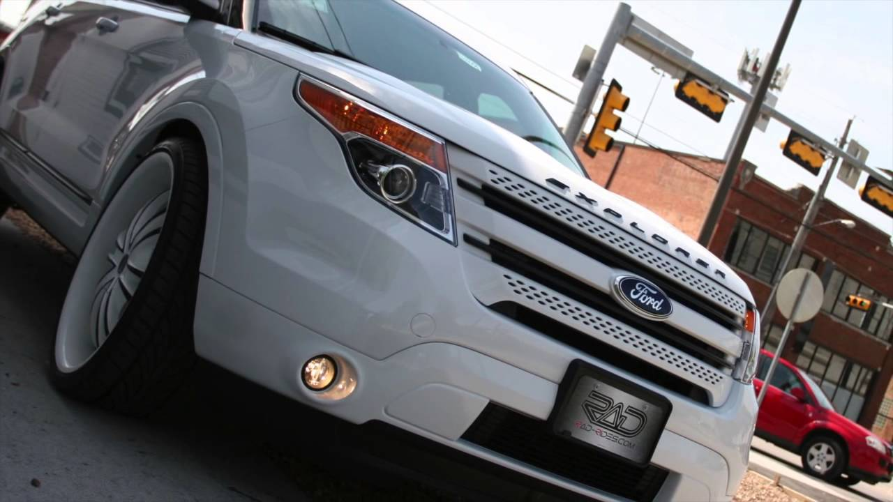 Custom Ford Explorer >> Rad Rides Custom Ford Explorer Youtube