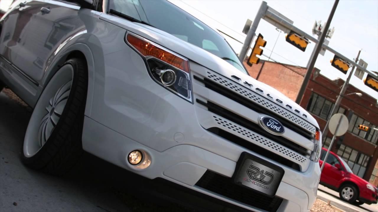 Rad Rides Custom Ford Explorer Youtube