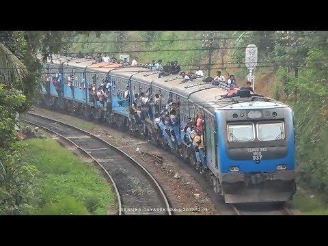 SLR | TRAIN STRIKE Day | Fully Crowded Trains