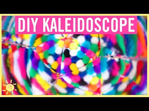 DIY | How to Make a REAL Kaleidoscope (So Easy!)