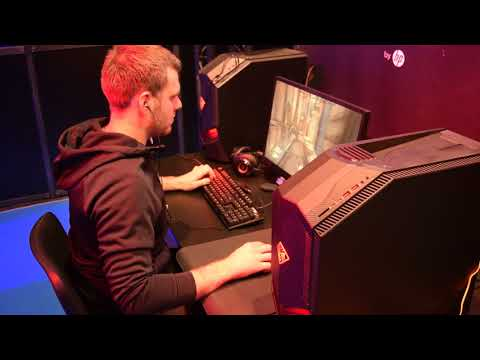 ESWC 2017 Quake Champions - cnz playing