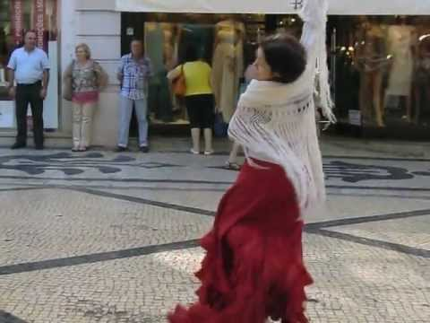 Flamenco Sevilhanas - Rua Augusta - Lisboa ___ (1/2)