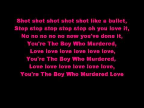 Diana Vickers The Boy Who Murdered Love Lyrics