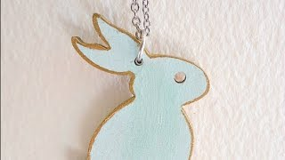 Make Your Own Wooden Bunny Necklace - Diy Style - Guidecentral