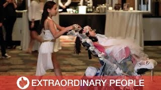 Daughter Surprises Mum with Wedding Dance with Disabled Sister