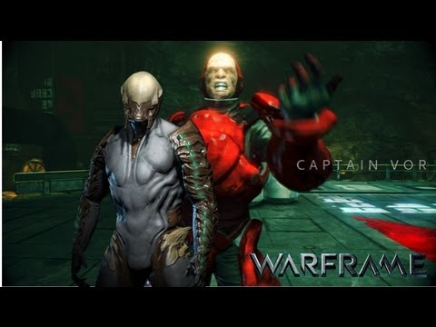 Gameplay Warframe Boss Fight Captain Vor YouTube