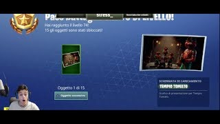 BUG FORTNITE IN STREAM! ALMOST LEVEL 100 IN 1 MINUTE!