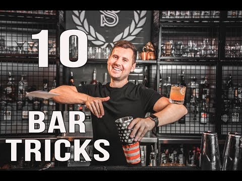 10 Basic Bar Tricks To Learn in 2019