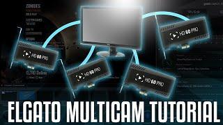 Elgato Multicam Tutorial (w/ Elgato HD60 Pro)