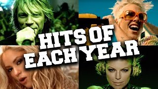 Top 10 Most Viewed Songs of Each Year (2000 - 2010 Music Hits)