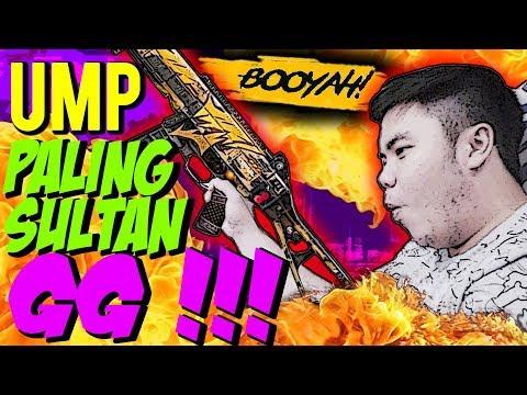 UMP SULTAN SKIN LEGEND LEBIH SAKIT DARI MP40?? 1 SQUAD RATA BOOYAH! - Free Fire Indonesia #123