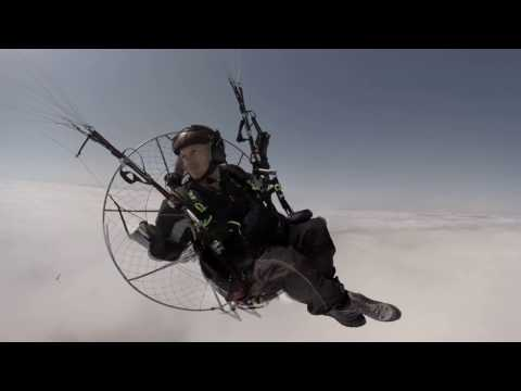 2016 France 360 4k 60fps St Martin d Arberoue Above the cloud Several Paramotors injected