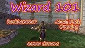 W101 Wizard101 Jewel Recipes Level 55 - 85 CL ZF AV AZ Test