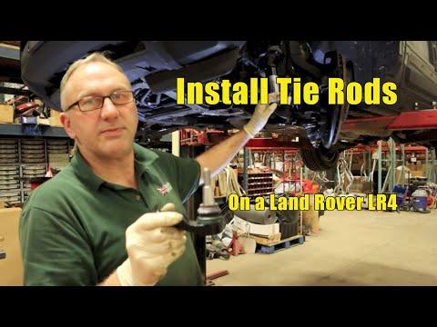 Atlantic British Presents: Install Tie Rods on Land Rover LR4