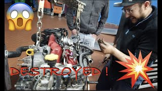 Engine Block Explosion 💥 and Motorsport Expo l Destroyed EJ25 l  Subi-Performance