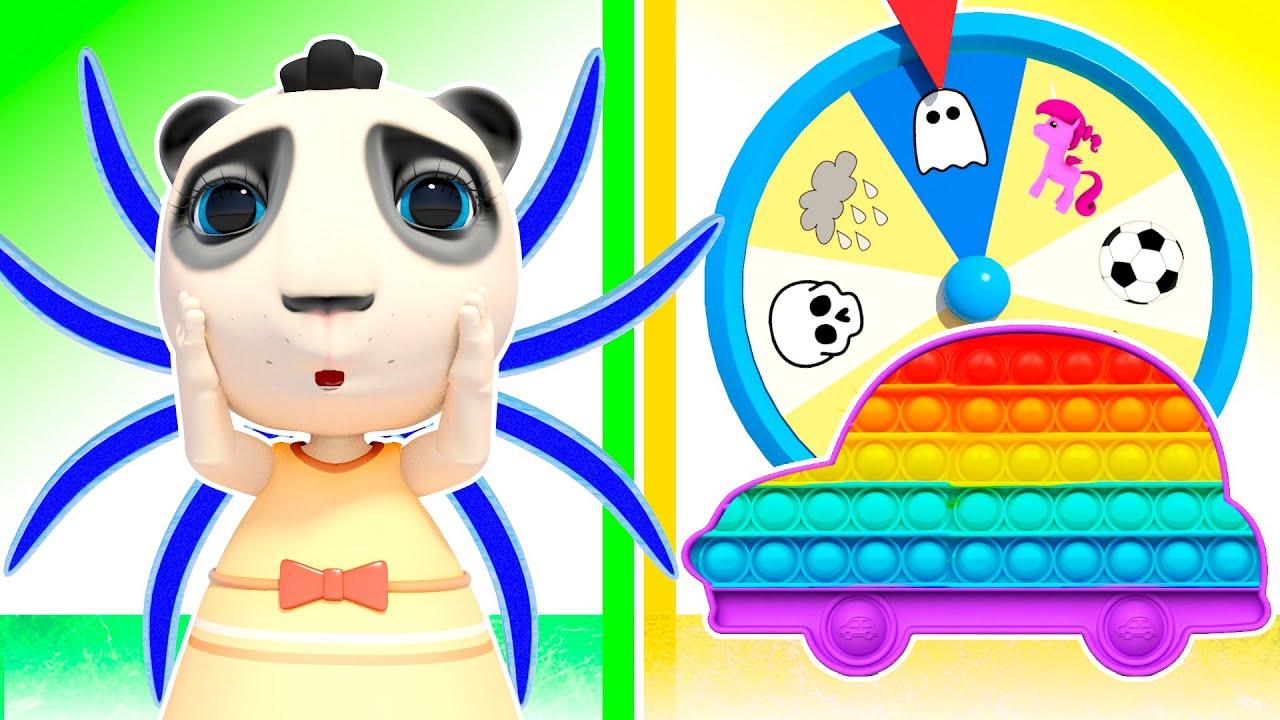 Kids play Pop It Challenge | Hot vs Cold: Stories about friendship | Hide And Seek + Nursery Rhymes