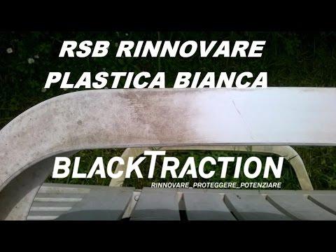 Pulire Sedie Di Plastica.Rinnovare Pulire Plastica Bianca Macchiata Youtube