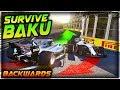 SURVIVE BAKU...BACKWARDS!!! - Insane Hardcore Damage F1 Game