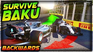 SURVIVE BAKU...BACKWARDS!!! - Insane Hardcore Damage F1 Game