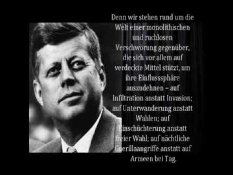 John Fitzgerald Kennedy - Rede an die Presse