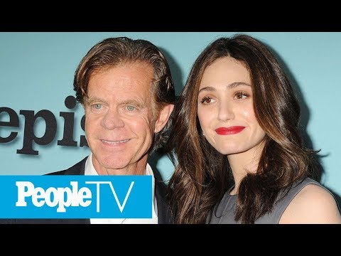 Shameless: William H. Macy Talks Defending Emmy Rossum's Fight For Equal Pay & More | PeopleTV