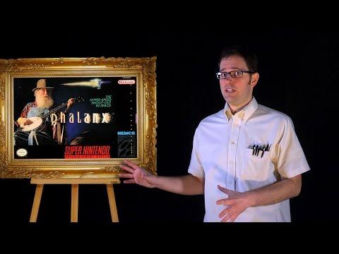 AVGN: Bad Game Cover Art #6 - Phalanx (SNES)
