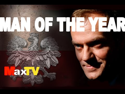 Donald Tusk - Man of the Year 2014 - Max Kolonko MaxTV