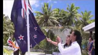 Niue Flag Raising 2010 Part 2: Raising of Flags