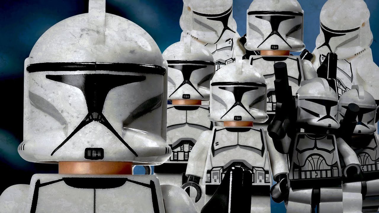Sale On Legos Lego Clone Troopers For Sale Clone Army Project Youtube