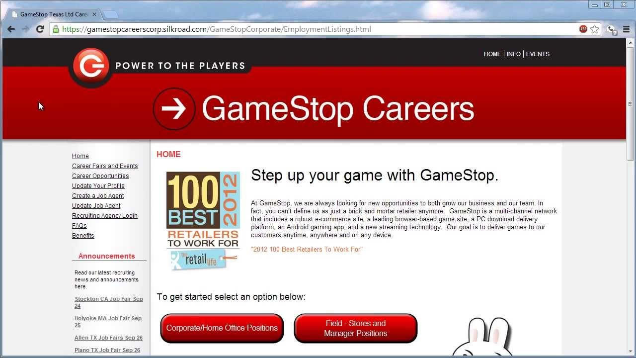 GameStop Application Online Video - YouTubeGamestop