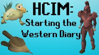 [OSRS] HCIM 138: Starting the Western Diary (1977/2277)