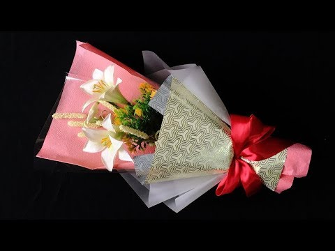 Abc tv how to make flower bouquet easter lily craft tutorial abc tv how to make flower bouquet easter lily craft tutorial negle Choice Image