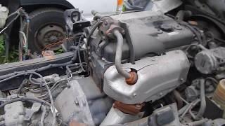 Видеотест ДВС TF. Mazda Titan 1997г. WGE1T-1449