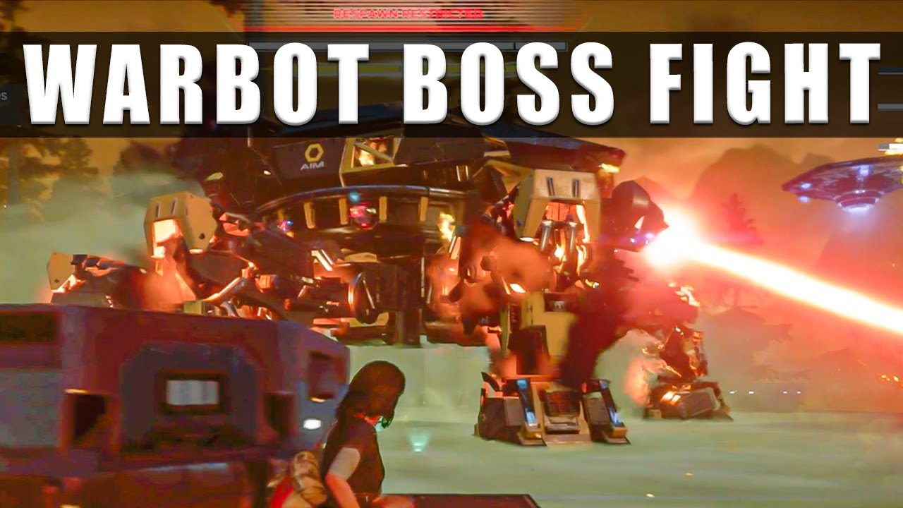 Marvels Avengers how to defeat Warbot To Tame A Titan boss fight