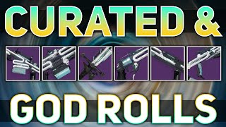 ALL Raid Weapons (Curated & God Rolls) | Destiny 2 Beyond Light