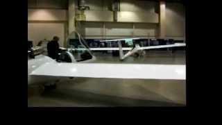glider exhibit hall at the 2012 SSA Soaring Convention in Reno, Nevada