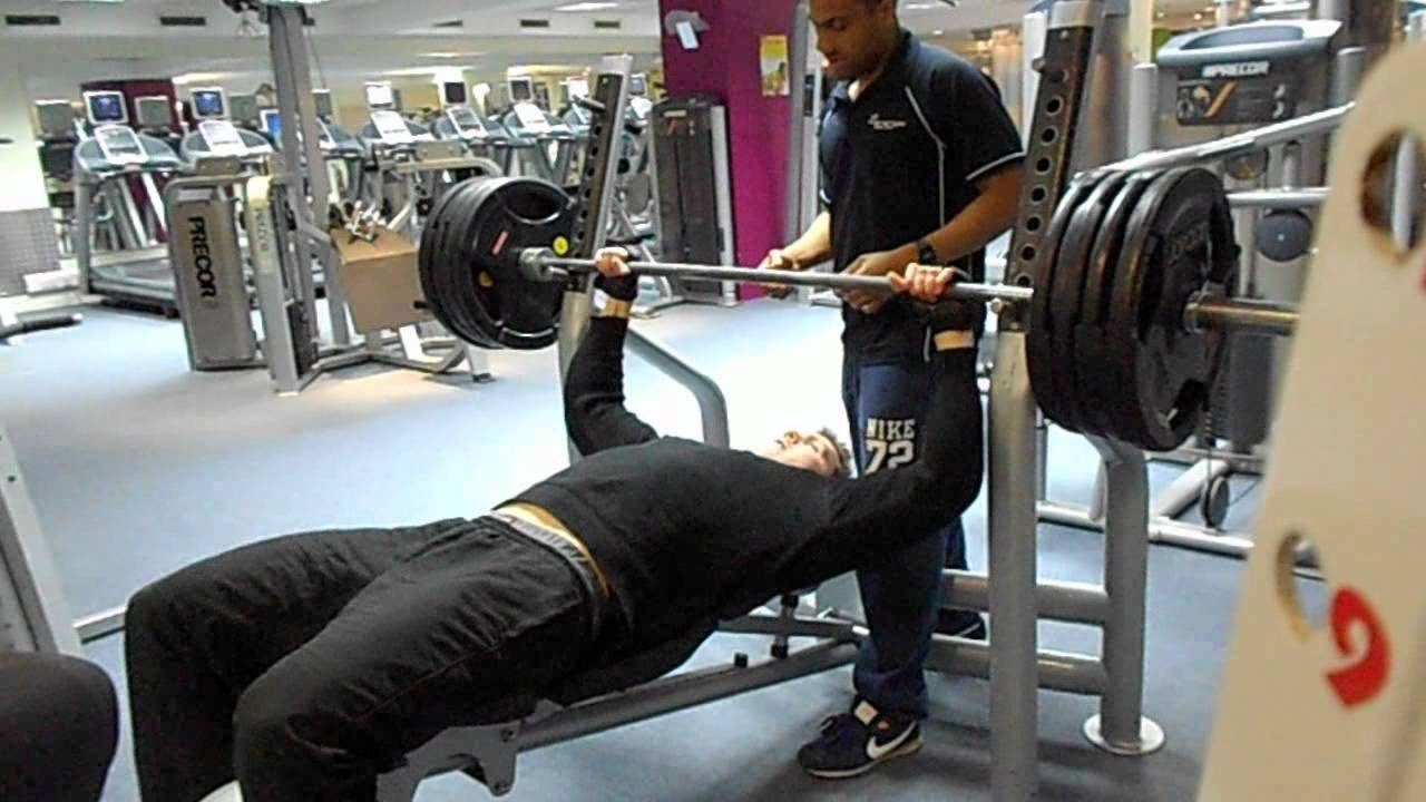 Bench Press 180kg 396lbs 1 Rep Max Bodybuilding Training ...