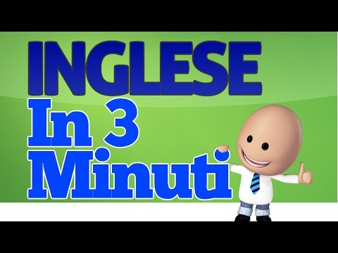 Come imparare l'inglese in 3 minuti from YouTube · Duration:  3 minutes 27 seconds