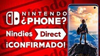 NINTENDO QUIERE HACER SU PROPIO TELÉFONO MÓVIL?! NINDIES DIRECT CONFIRMADO!! | Opinión