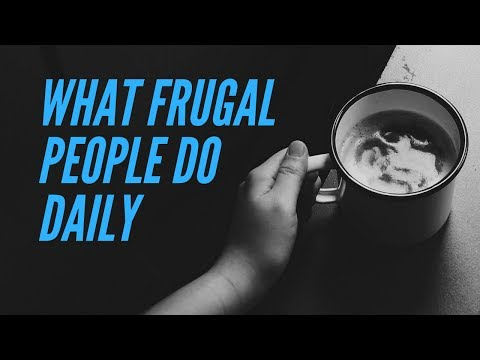 7 Daily Frugal Habits That Save A LOT Of Money