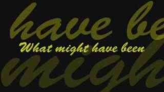 Lou Pardini  What Might Have Been LYRICS