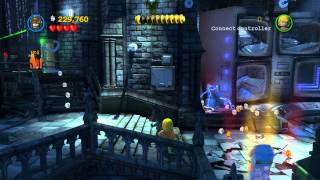 LEGO Batman 2 DC Super Heroes 100% Guide - Asylum Assignment (All Minikits, Citizen in Peril)