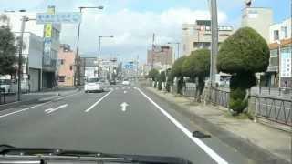 アキーラさんドライブ!国道一号線・三重・桑名市街1,Kuwana-city.Mie,Japan