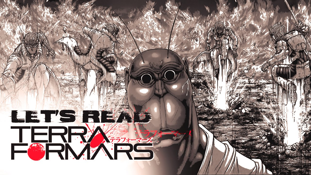 Lets Read Terra Formars Chapter 149 Live Reaction テラフォー