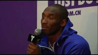Kobe Bryant interview on the lockout, Yao Ming and the NBA Championships