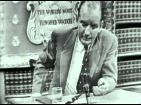 Joseph McCarthy attacks Adlai Stevenson