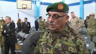 NATO holds ceremony closing Afghan mission