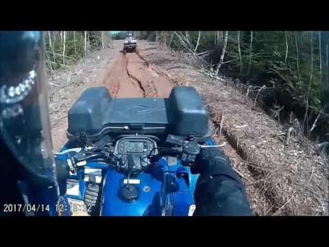 ATV MUD Run Helmet Cam View